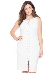 c869b149172 12 Best White Plus Size Outfits images