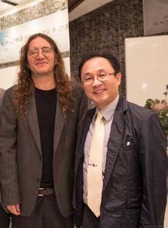벤고르첼(Ben Goertzel)과 김부겸의원이 함께하는 미래사회전략세미나 가 역삼동 스칼라티움 웨딩문화원에서 개최되었습니다.   #인공지능 전문가이며 #로봇대통령 #로바마 를 만든 #벤고르첼 박사는  인공지능의 대가로서 소프트웨어개발분야의 천재박사이며,  현재 일반인공지능협회 회장이자 레이 커즈와일과 구글이 만든 싱큘래리티대학의 교수로 재직 중이다. OpenCog재단 이사장겸 창업자로서 인공지능을 오픈소스로 모든 사람에게 무료로 나눠 인공지능 분야를 급속하게 발전시키자는 운동을 벌이고있다. 세계최초 인공지능 로봇 소피아, 한, 필립 등이 인간처럼 표정을 짓고, 말하고, 의사결정을 하며, 노래도 하는 AI로봇을 만들었다.  또 정치인, 국회, 정부의 일도 인공지능의 도움을 받아 의사결정이 편견없고 더 정확하도록 만드는 로바마AI엔진도 만들었다.  벤고르첼(Ben Goertzel)박사님과 김부겸의원님과의 인증샷....  벤고르첼 #Ben_Goertzel https://