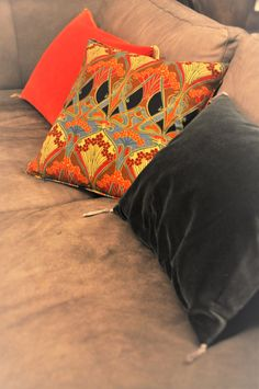 Caravane and Liberty cushions
