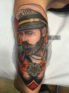 Tattoo New traditionalist .Artist Daniels Bauti #tattoo #neotraditional #ink