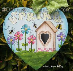 Spring Heart ePacket - Susan Kelley - PDF DOWNLOAD