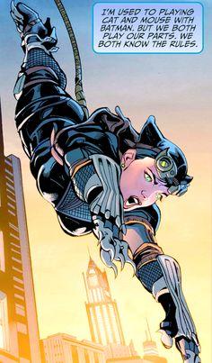 Imagen de catwoman, selina kyle, and dc comics Catwoman Comic, Catwoman Cosplay, Batman And Catwoman, Batgirl, Dc Comics Art, Comics Girls, Marvel Dc Comics, Comic Art, Comic Books