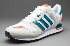 Sepatu Sneaker Adidas Originals ZX700 White Bliss St Deep Lake Adidas Zx 700 b55f9f5fb5