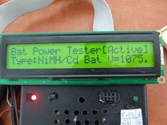 Picture of Arduino True Battery Capacity Tester (Li-Ion/NiMH/NiCD/Pb)