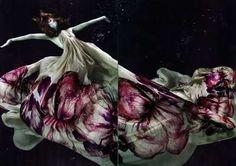 Ethereal Underwater Fashiontography - Zena Holloway