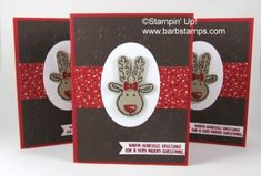 Cookie Cutter Christmas Reindeer (Barb Stamps)