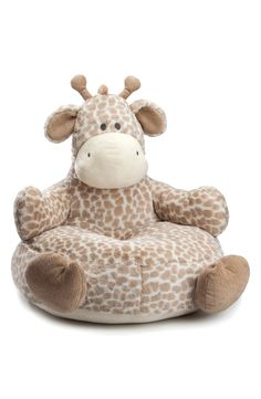 The cutest little chair ever | Giraffe Plush Baby Chair