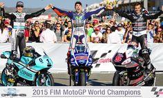 Jorge Lorenzo World Champion MotoGP 2015