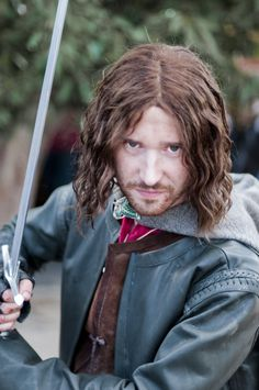 Still not king yet by Dispozition.deviantart.com on @deviantART - Cosplay of Aragorn from Lord of the Rings, uploaded by the photographer