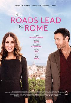 ⭐️⭐️ Sarah Jessica Parker and Raoul Bova in All Roads Lead to Rome (2015)