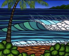 hawaiian winter by heather brown.  love her artwork.