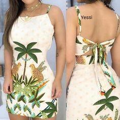 Look Inspiração ❤️❤️❤️ Eu Amei ❤️ e Vocês Gostaram? Sigam e fiquem por dentro das lojas tendência da Moda Goiânia . Cheap Dresses, Casual Dresses For Women, Cute Dresses, Casual Outfits, Cute Outfits, Summer Dresses, Dress Outfits, Fashion Dresses, Blouse Styles