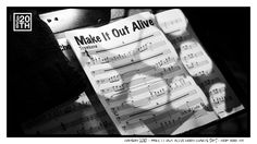 Photo 110 of 365  HANSON 2010 - Make It Out Alive Horn Charts, 5of5 - New York NY    This is a picture of the horn charts for the song Make It Out Alive, during the 5of5 concert series. Do you have a favorite song from Shout It Out with horns on it? Tell us about it.    #Hanson #Hanson20th