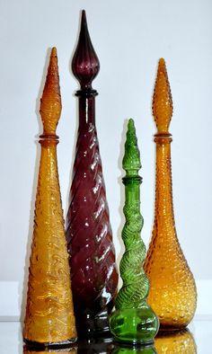 Genie Bottles Purple set