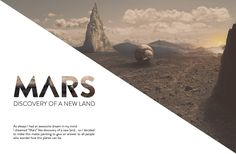 MARS • Discovery of a New Land. on Behance