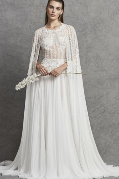 The 9 Fall 2018 Wedding Dress Trends Brides Need to Know Wedding dress by Zuhair Murad