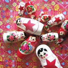 Babushka's eponymous Russian nesting dolls!!