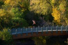 A great shot of Minneapolis, from Dancers Among Us: A Celebration of Joy in the Everyday, by Jordan Matter. Algonquin.
