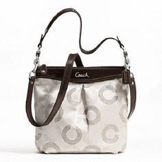 New Coach Ashley Dotted Op Art Hippie-Bonus. Starting at $15 on Tophatter.com!
