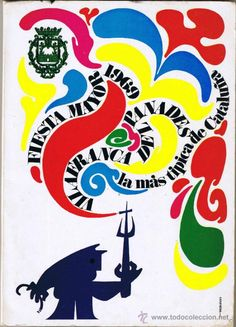 Programa Festa Major 1969 - Vilafranca del Penedes