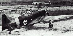 Morane-Saulnier MS.406 in Finnish markings