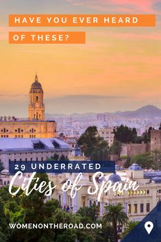 Low Cost Insurance Plan For The Welfare Of Your Loved Ones 29 Underrated Spanish Cities Some You May Never Have Heard Of Rotterdam, Backpacking Spain, Spain Culture, Spanish Towns, Solo Travel Tips, Spain Holidays, Senior Trip, Spain Travel, Portugal Travel