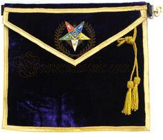 Masonic Oes Worthy Patron Apron Grand Lodge, Eastern Star, Aprons, Captain Hat, Stars, Apron Designs, Sterne, Apron, Star