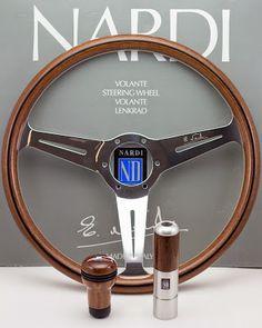 Nardi steering wheel, shifter knob and parking brake handle.