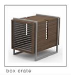 Dog box crate so beautiful!  | #UrbanPetHaus #dog #DogCrate