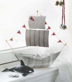 "4 Fun Father's Day Gifts That Kids Can Make And Dads Will Love: origami newspaper pirate ship from <a class=""pintag searchlink"" data-query=""%23ProjectKid"" data-type=""hashtag"" href=""/search/?q=%23ProjectKid&rs=hashtag"" rel=""nofollow"" title=""#ProjectKid search Pinterest"">#ProjectKid</a> <a href=""http://www.projectkid.com"" rel=""nofollow"" target=""_blank"">www.projectkid.com</a>"