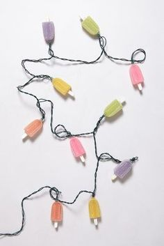 popsicle string lights!