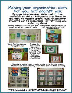 A Differentiated Kindergarten: Kindergarten Daily 5 Book Study: Chapter One