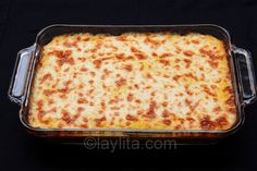 Pastel de choclo con queso or pastel de humita is a savory baked fresh corn and cheese cake or casserole dish from South America.