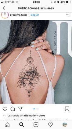 Tribal Rose Tattoos, Flower Spine Tattoos, Foot Tattoos, Sleeve Tattoos, Tatoos, Delicate Tattoos For Women, Spine Tattoos For Women, Shoulder Tattoos For Women, Mandala Hip Tattoo