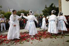 Dança das Virgens - Lousa - Castelo Branco (Portugal) em Mayo