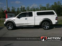 Enthuze Fender Flares installed on this Ford F150