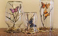 Figuras Personalizadas , Complementos Novias Vintage, Ibicencas, Boho Chic, Rusticas : Mariposas para Decorar el Pastel de Bodas