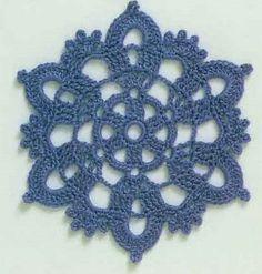 Two Circular Crochet Motifs. More Patterns Like This!