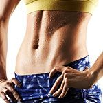 This ab workout was brutal but worth it.