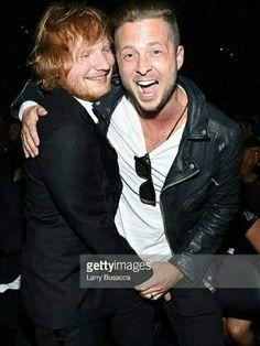 Ed Sheeran and Ryan Tedder - Grammy 2016