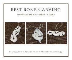 Good Bones, Bone Carving, Custom Jewelry, Crochet Earrings, Memories, Website, Stone, Check, Gifts
