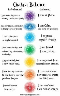 Feel the imbalance, acknowledge it, move to balance it.