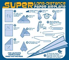 paper airplanes  instructions