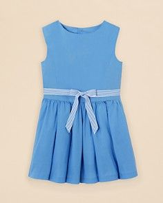 Jacadi Girls' Belted Dress - Sizes 2-6