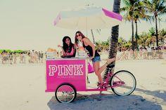 bicycle ice cream cart