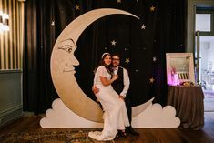 Photo Booth Backdrop Moon Crescent Titchwell Manor Wedding Honey and The Moon Photography Photography Booth, Moon Photography, Wedding Photography, Wedding Photo Booth, Wedding Photos, Photo Booth Backdrop, Photo Booths, Wedding Breakfast, Our Wedding