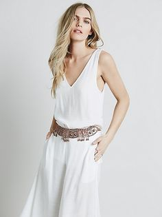 Free People Hidden Treasures Belt at Free People Clothing Boutique