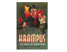 In the early Christmas traditions of Europe, the Krampus was St. Nicholas' dark servant-a hairy, horned, supernatural beast whose pointed ears and long slithering tongue gave misbehavers the creeps! Whereas St. Nicholas would reward children who'd been good all year, those that had behaved badly were visited by the Krampus.