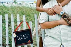 Engagement DIY save the date sign