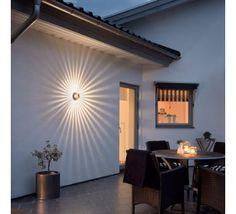 Applique ext rieure alpa noir mat millumine clairage for Luminaire exterieur double